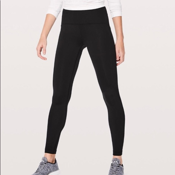 e9422d0a94917 lululemon athletica Pants | Lululemon Fleece Leggings Sz 6 | Poshmark